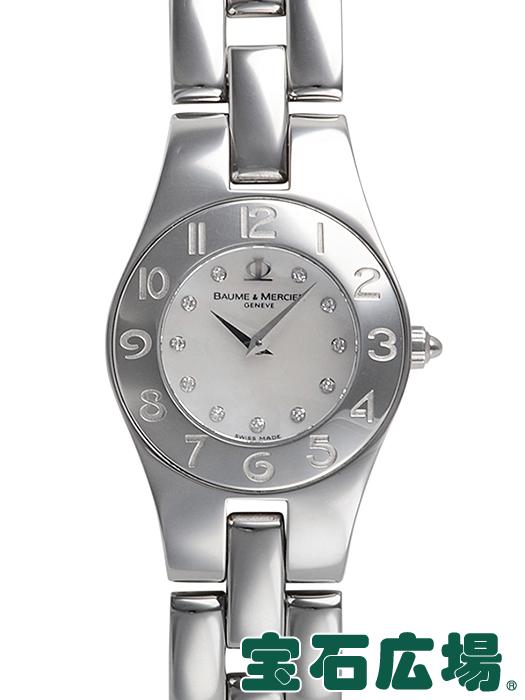 ボーム&メルシエ リネア MOA10011【中古】 レディース 腕時計 送料・代引手数料無料