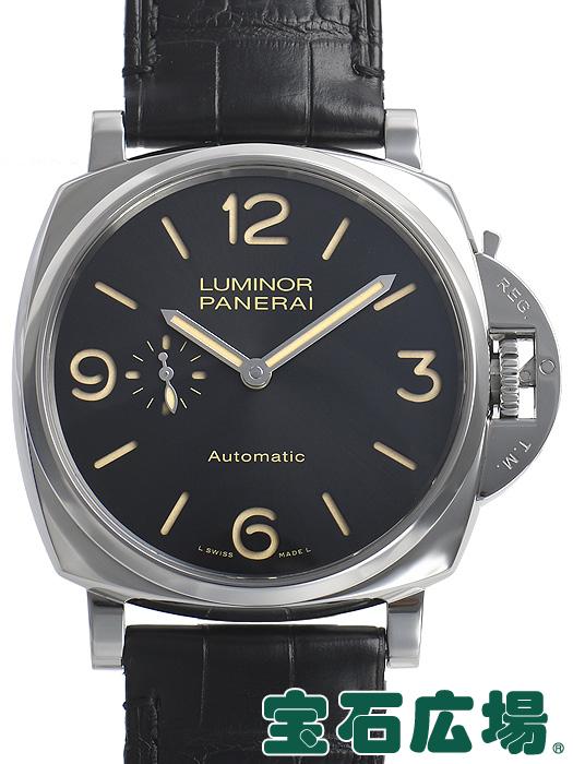 パネライ ルミノール ドゥエ3デイズ オートマティックアッチャイオ PAM00674【中古】 メンズ 腕時計 送料・代引手数料無料