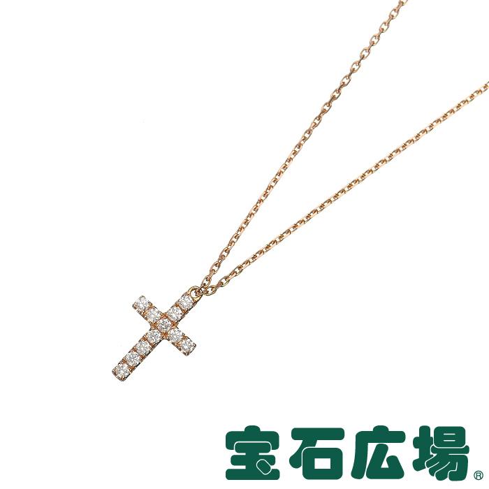 カルティエ シンボル クロス ダイヤ ネックレス B7221800【中古】 ジュエリー 送料・代引手数料無料