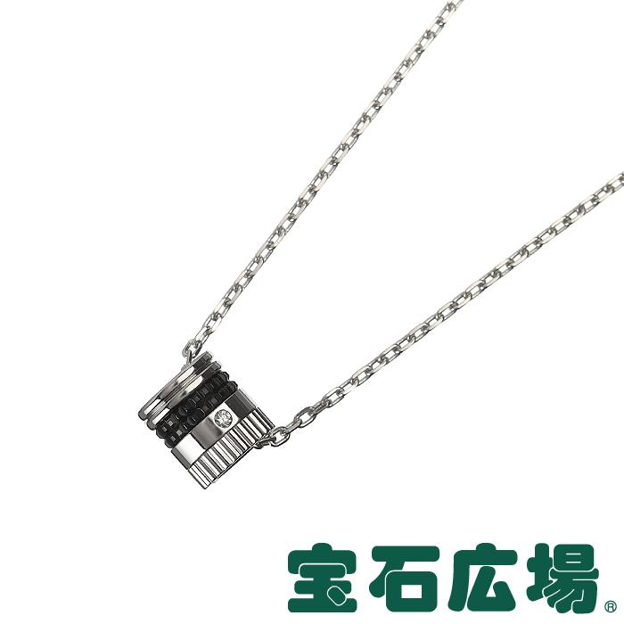 ブシュロン キャトルブラック 1Pダイヤ ペンダントネックレス JPN00553【新品】 ジュエリー 送料・代引手数料無料