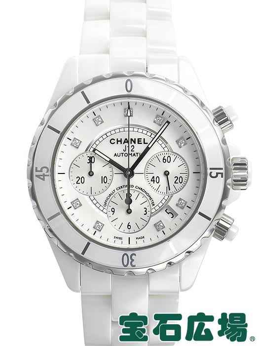 シャネル J12クロノグラフH2009【新品】 メンズ 腕時計 送料・代引手数料無料