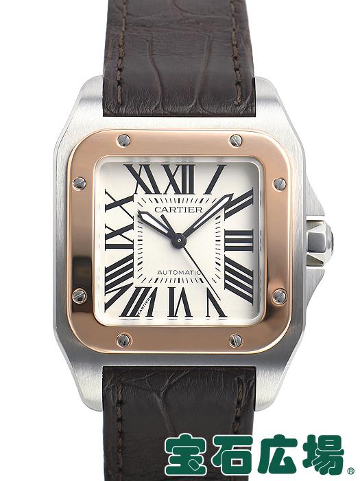 カルティエ サントス 100 MM W20107X7【中古】 ユニセックス 腕時計 送料・代引手数料無料