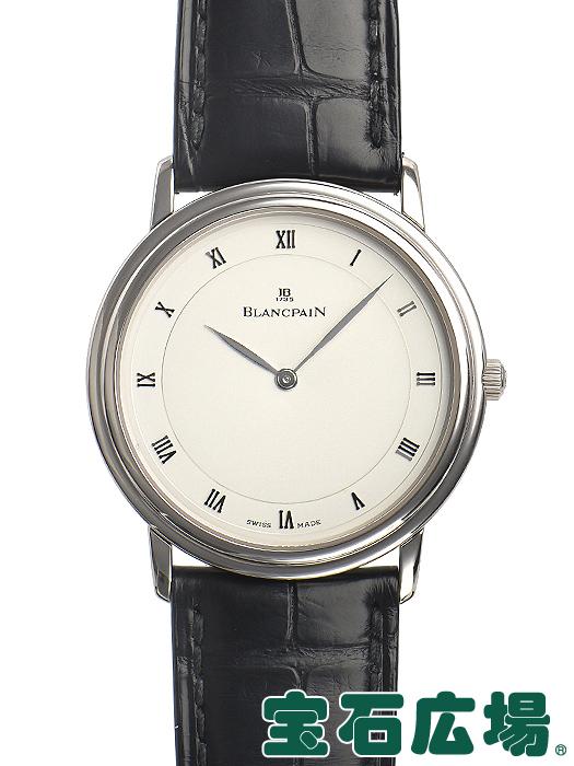 ブランパン ヴィルレ ウルトラスリム 99本限定 0021-1542-55【中古】 メンズ 腕時計 送料・代引手数料無料