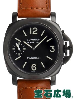 パネライ ルミノールマリーナ PAM00004【中古】 メンズ 腕時計 送料・代引手数料無料
