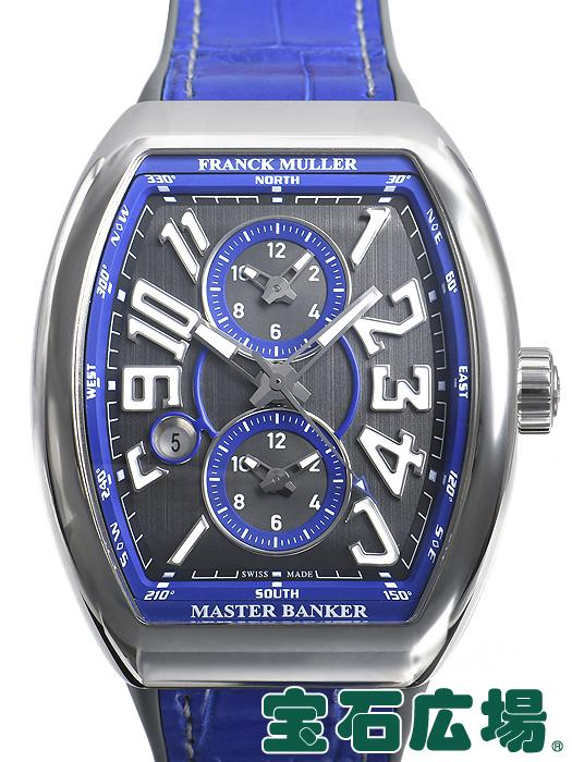93c77c0c8a フランク・ミュラー ヴァンガード マスターバンカー 世界限定50本 V45MBSCDTACBL【新品】 メンズ 腕時計 送料・代引手数料無料  値段が激安