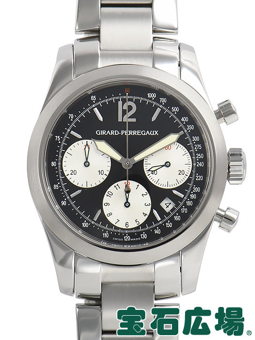 ジラール・ペルゴ Girard-Perregaux クロノスポーツ2000 49560.1.11【中古】 メンズ 腕時計 送料・代引手数料無料