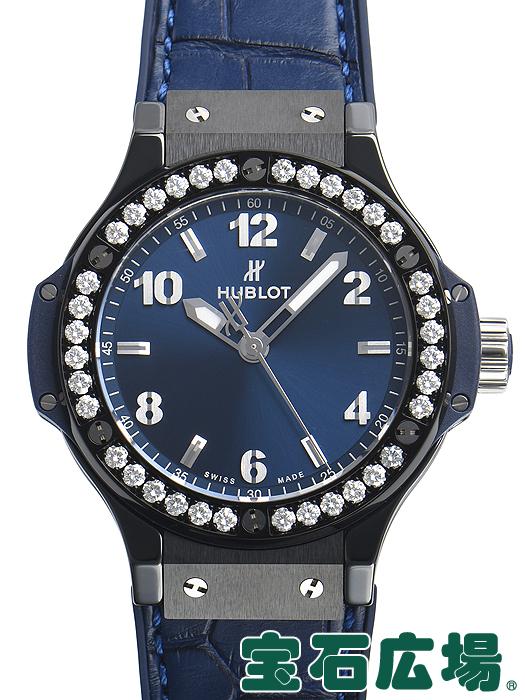 ウブロ HUBLOT ビッグバン セラミック ブルー ダイヤモンド 361.CM.7170.LR.1204【新品】 ユニセックス 腕時計 送料無料