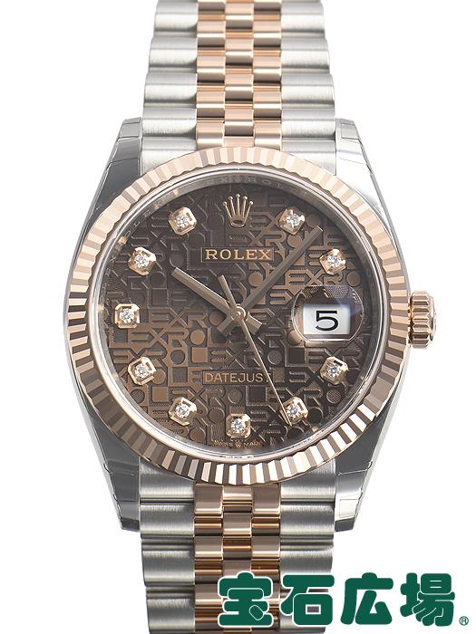 【最大3万円OFFクーポン配布中!5/1(水)0時開始】ロレックス ROLEX デイトジャスト36 126231G【新品】 メンズ 腕時計 送料・代引手数料無料