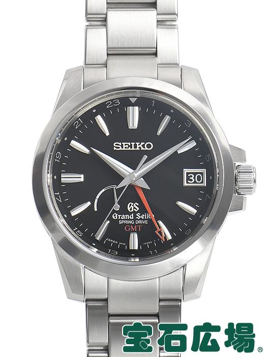 セイコー SEIKO グランドセイコー スプリングドライブ GMT SBGE013 9R66-0AE0【中古】 メンズ 腕時計 送料・代引手数料無料