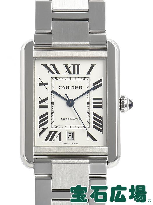 カルティエ CARTIER タンクソロ XL W5200028【中古】 メンズ 腕時計 送料・代引手数料無料
