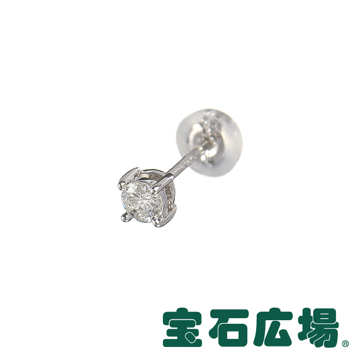 宝石広場オリジナル ダイヤ ピアス(シングル) D 0.115ct 【新品】 ジュエリー 送料無料