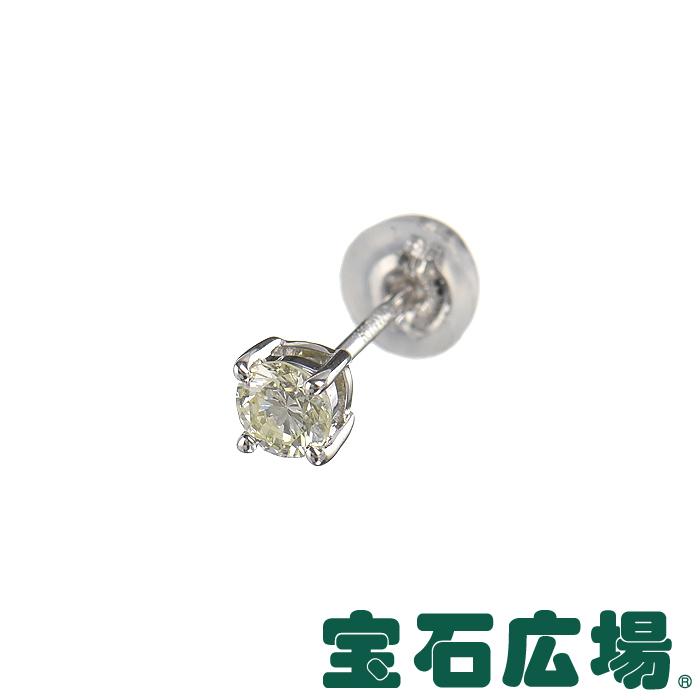 宝石広場オリジナル ダイヤ ピアス(シングル) D 0.169ct
