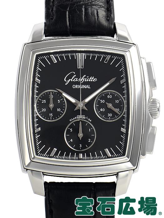グラスヒュッテ・オリジナル GLASHUTTE ORIGINAL セネタカレ クロノグラフ 39-31-54-52-04【中古】メンズ 腕時計 送料・代引手数料無料