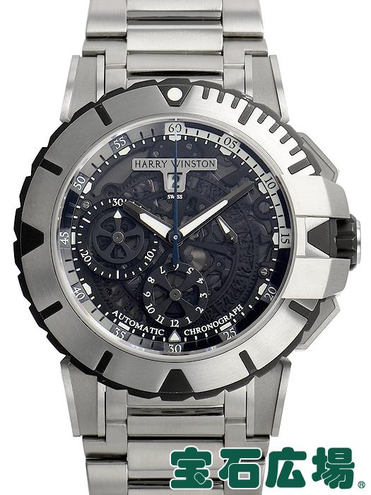 魅了 ハリー クロノ・ウィンストン 腕時計 HARRY HARRY WINSTON オーシャンスポーツ クロノ OCSACH44ZZ003 (411/MCA44ZZ.K)【】メンズ 腕時計 送料無料, オオタケシ:248bccb6 --- immosale24.at