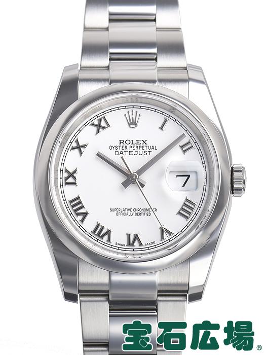 ロレックス デイトジャスト 116200【中古】メンズ 腕時計 送料・代引手数料無料