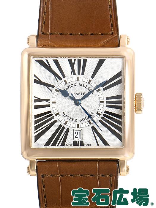 フランク・ミュラー FRANCK MULLER マスタースクエア 6000HSCDT【中古】メンズ 腕時計 送料・代引手数料無料