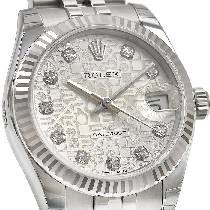4a6c43a4f96 ロレックス ROLEX デイトジャスト 178274G 新品  ユニセックス 腕時計 ...