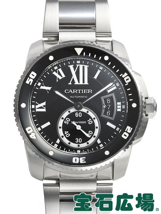 カルティエ CARTIER カリブル ドゥ カルティエ ダイバー W7100057【中古】 メンズ 腕時計 送料・代引手数料無料