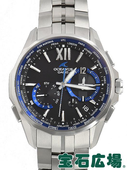 カシオ CASIO オシアナス マンタ OCW-S3400-1AJF【中古】 メンズ 腕時計 送料・代引手数料無料