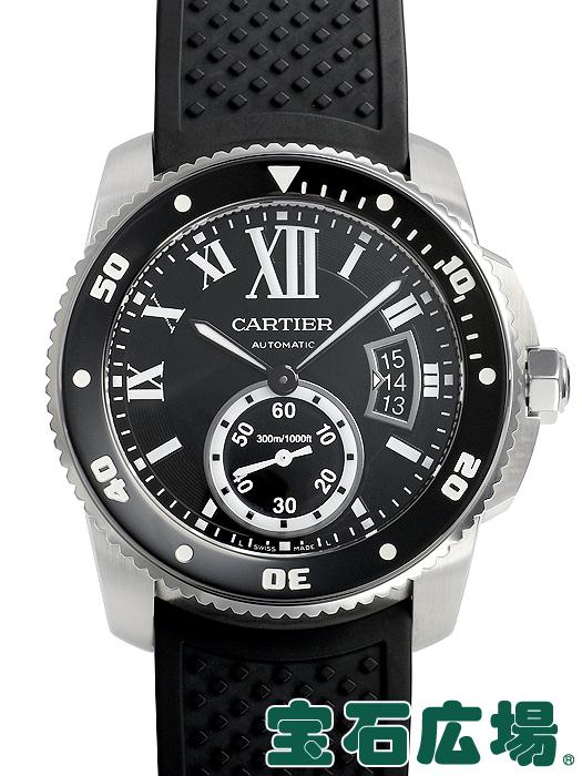 カルティエ CARTIER カリブル ドゥ カルティエ ダイバー W7100056【中古】 メンズ 腕時計 送料・代引手数料無料
