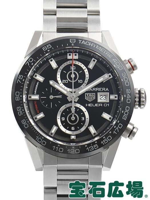 タグ・ホイヤー TAG HEUER カレラ キャリバーホイヤー01 43mm CAR201Z.BA0714【中古】 未使用品 メンズ 腕時計 送料・代引手数料無料