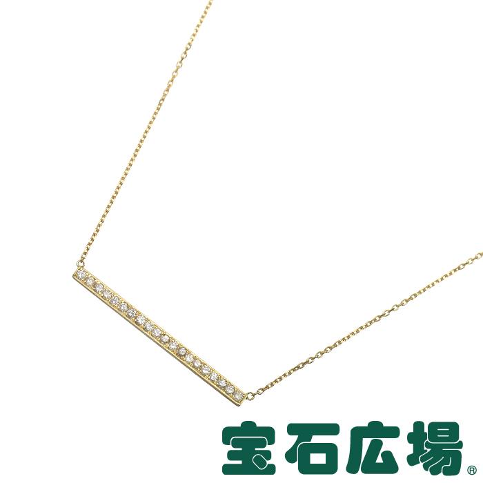 宝石広場オリジナル バー ダイヤ ネックレス D 0.203ct【新品】 ジュエリー 送料無料
