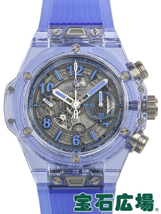 ウブロ HUBLOT ビッグバン ウニコ ブルーサファイア 世界限定250本 411.JL.4809.RT【新品】 メンズ 腕時計 送料・代引手数料無料