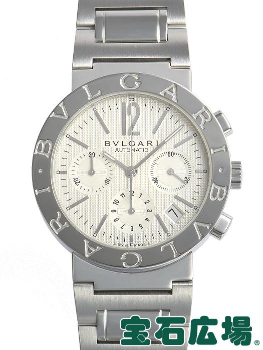 ブルガリ BVLGARI ブルガリブルガリ クロノ BB38WSSDCH/N【中古】 メンズ 腕時計 送料・代引手数料無料