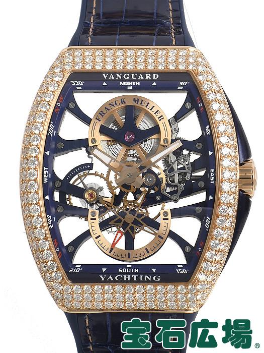 フランク・ミュラー FRANCK MULLER ヴァンガード ヨッティング 7デイズ パワーリザーブ スケルトン V45S6SQT D YACHTING【新品】 メンズ 腕時計 送料・代引手数料無料
