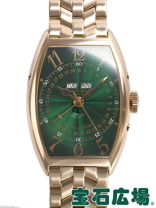 フランク・ミュラー トノウカーベックス マスターカレンダー 5850MC【中古】 メンズ 腕時計 送料・代引手数料無料