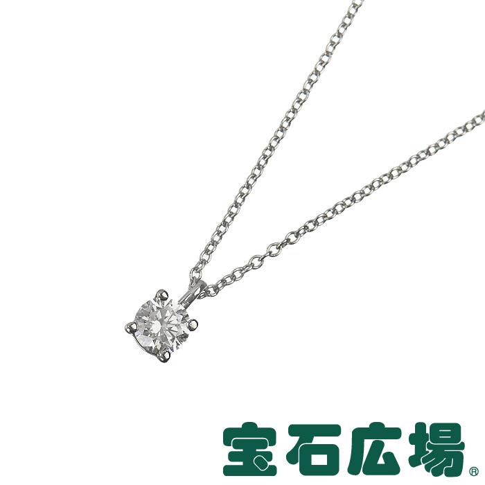 ティファニー TIFFANY&CO ソリティア(スタッド) ダイヤ ペンダントネックレス 【中古】 ジュエリー 送料無料