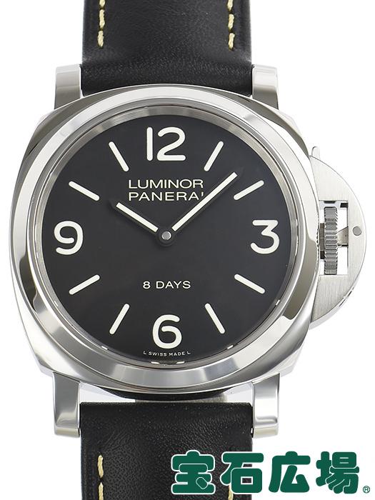 パネライ PANERAI ルミノールベース 8デイズ アッチャイオ PAM00560【中古】 メンズ 腕時計 送料・代引手数料無料