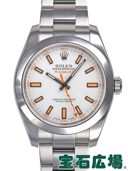ロレックス ROLEX ミルガウス 116400【中古】 メンズ 腕時計 送料・代引手数料無料