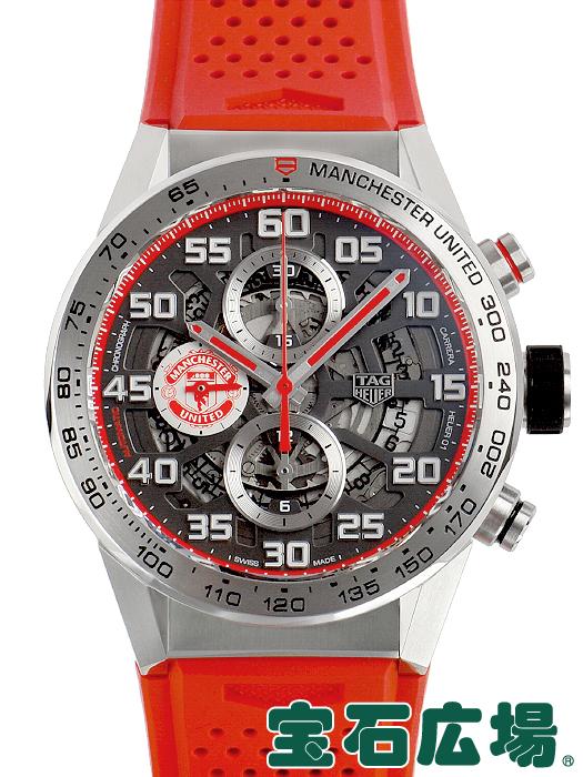 タグ・ホイヤー TAG HEUER カレラ キャリバーホイヤー01 43mm マンチェスターユナイテッド CAR201M.FT6156【新品】 メンズ 腕時計 送料・代引手数料無料