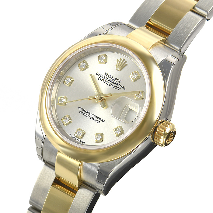 ロレックス ROLEX レディ デイトジャスト28 279163G【新品】 レディース 腕時計 送料・代引手数料無料
