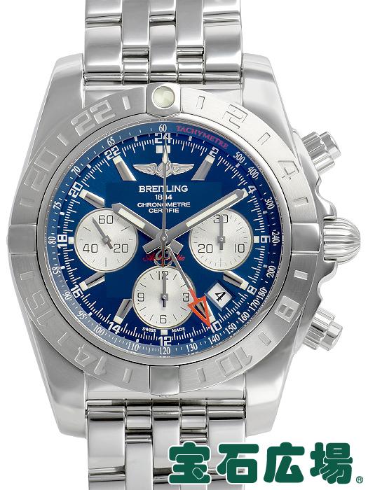 ブライトリング BREITLING クロノマット44 GMT AB042011/B851.375A【中古】 メンズ 腕時計 送料・代引手数料無料