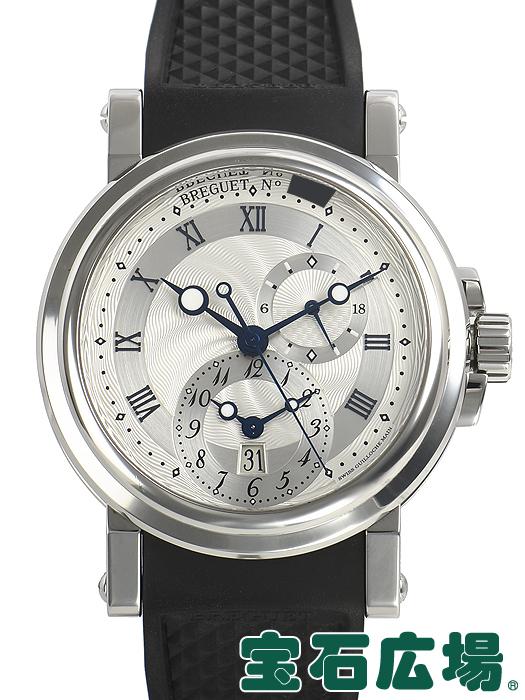 ブレゲ BREGUET マリーン GMT 5857ST/12/5ZU【中古】 メンズ 腕時計 送料・代引手数料無料