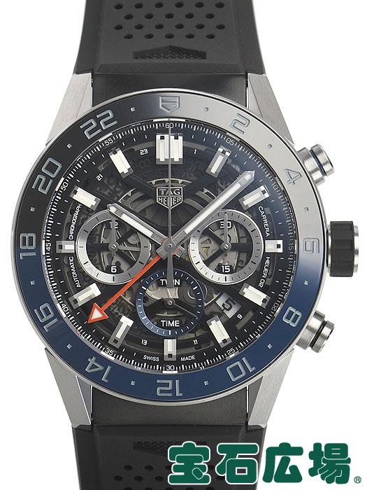 タグ・ホイヤー TAG HEUER カレラ キャリバーホイヤー02 クロノグラフGMT CBG2A1Z.FT6157【新品】 メンズ 腕時計 送料・代引手数料無料