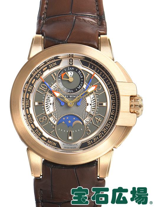 ハリー・ウィンストン HARRY WINSTON オーシャン バイレトログラード パーペチュアルカレンダー OCEAPC42RR001【新品】 メンズ 腕時計 送料・代引手数料無料