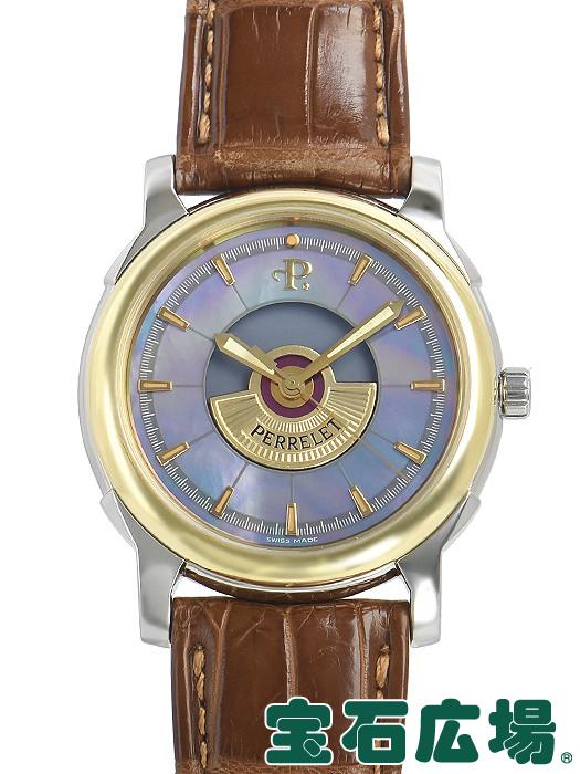 ペルレ PERRELET テンペスト 世界限定500本 TEMPEST-SG【中古】 メンズ 腕時計 送料・代引手数料無料