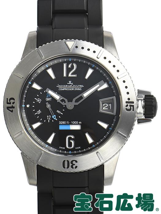 ジャガー・ルクルト JAEGER LECOULTRE マスターコンプレッサー ダイビング GMT Q187T670【中古】 メンズ 腕時計 送料・代引手数料無料