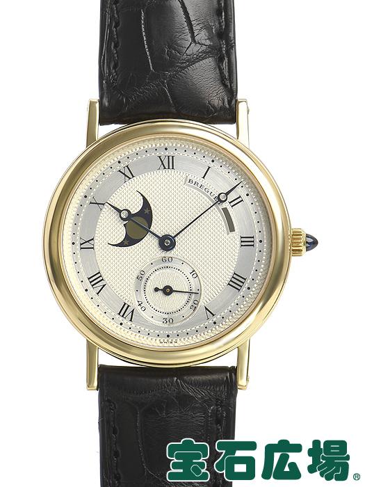 ブレゲ BREGUET クラシック ムーンフェイズ BA3300/12/286【中古】 メンズ 腕時計 送料・代引手数料無料