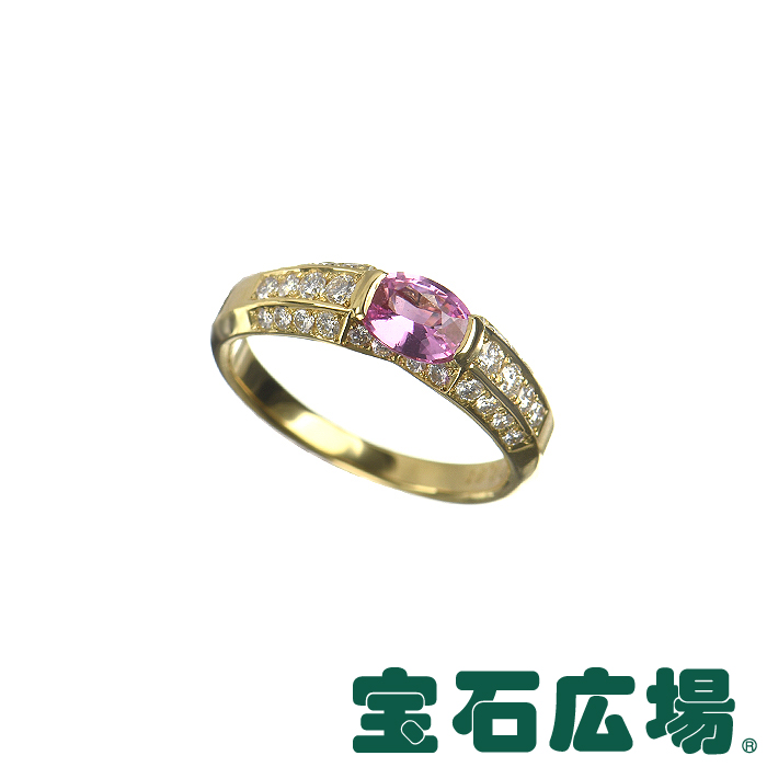 TASAKI ピンクサファイア・ダイヤ リング 【中古】 ジュエリー 送料無料