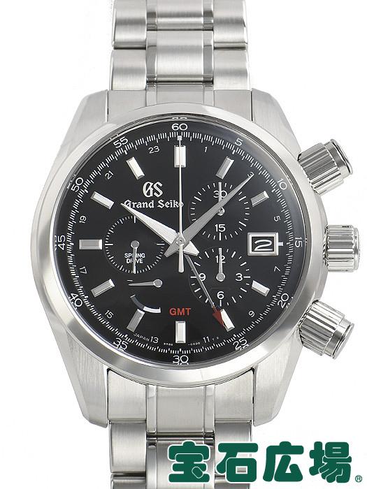 セイコー SEIKO グランドセイコー スプリングドライブ GMT マスターショップ限定 SBGC203 9R86-0AA0【中古】 未使用品 メンズ 腕時計 送料・代引手数料無料