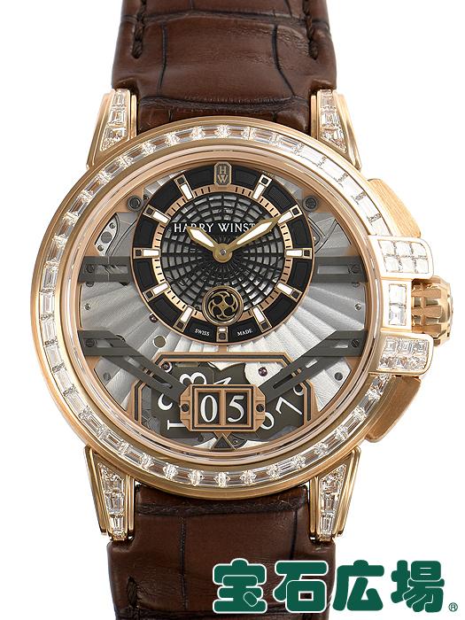 【最大3万円OFFクーポン配布中!5/1(金)0時開始】ハリー・ウィンストン HARRY WINSTON オーシャン ビッグデイト オートマティック 42mm 世界限定20本 OCEABD42RR002【新品】 メンズ 腕時計 送料無料