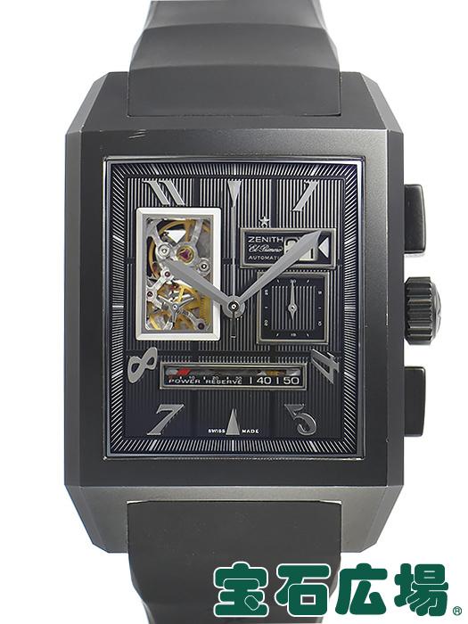 ゼニス ZENITH メガポートロワイヤル オープングランドデイト 96.0560.4039/77.R512【中古】 メンズ 腕時計 送料・代引手数料無料
