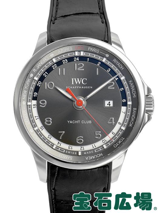 IWC ポルトギーゼ ヨットクラブ ワールドタイマー 世界限定500本 IW326602【中古】 メンズ 腕時計 送料・代引手数料無料