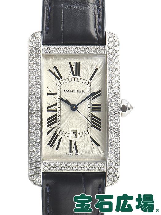 カルティエ CARTIER タンクアメリカン LM WB710004【中古】 メンズ 腕時計 送料・代引手数料無料