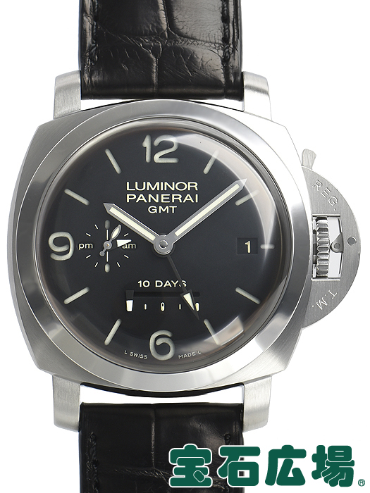 新しい季節 パネライ PANERAI ルミノール 1950 10デイズ GMT PAM00270【】 メンズ 腕時計 送料無料, 苫前郡 3a542293