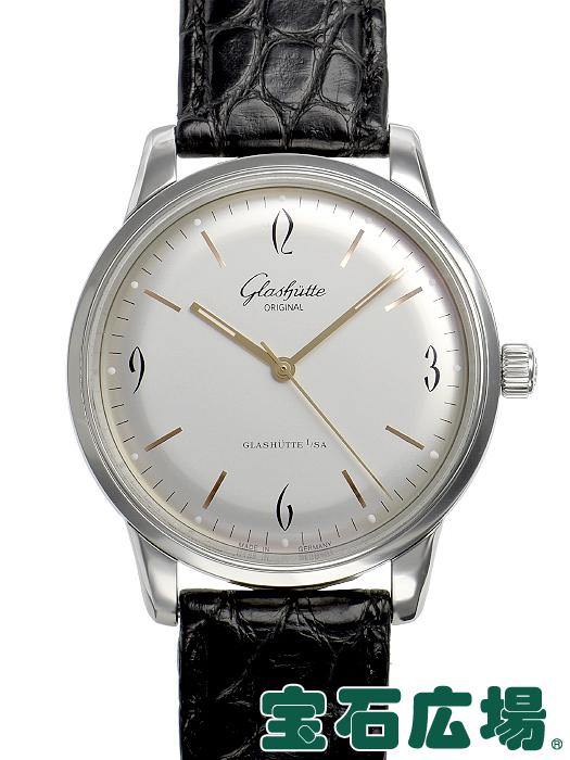 グラスヒュッテ・オリジナル GLASHUTTE ORIGINAL セネタ シックスティーズ 1-39-52-01-02-04【中古】 メンズ 腕時計 送料・代引手数料無料